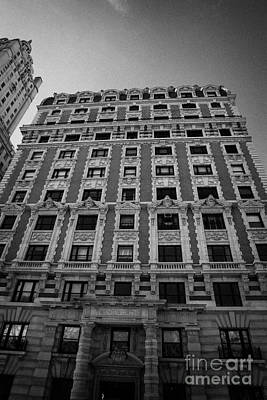 the Kenilworth building 151 Central Park West upper west side new york city Poster