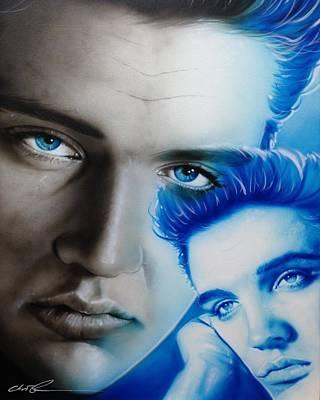 Elvis Presley - ' The King ' Poster