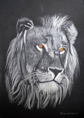 The King Poster by Zilpa Van der Gragt