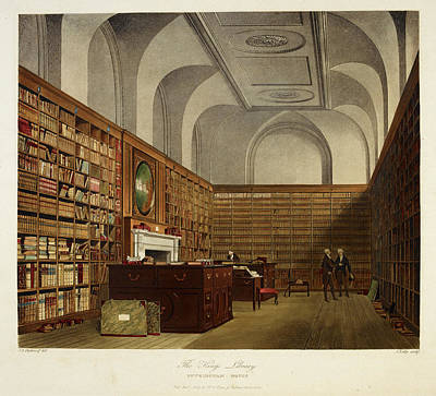 The King's Library. Buckingham House Poster