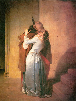 The Kiss Poster by Francesco Hayez