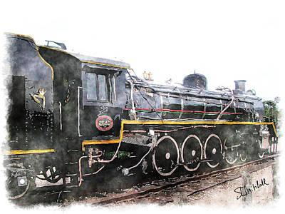 The Knysna Train Poster
