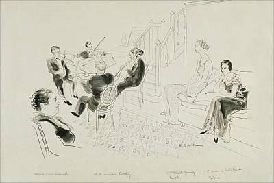 The Krettly Quartet Poster by Rene Bouet-Willaumez