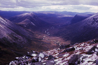 The Lairig Ghru - Cairngorm Mountains - Scotland Poster