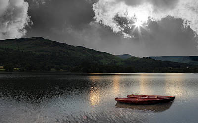 The Lake District Poster by Martin Newman