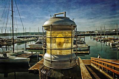 The Lamp At Embarcadero  Poster