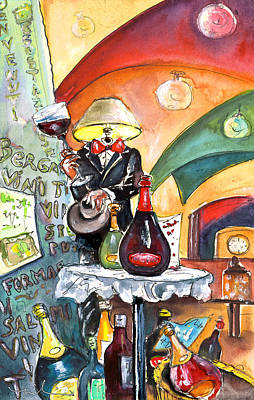 The Lampman From Bergamo Poster by Miki De Goodaboom