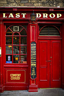 Poster featuring the photograph The Last Drop by Bud Simpson