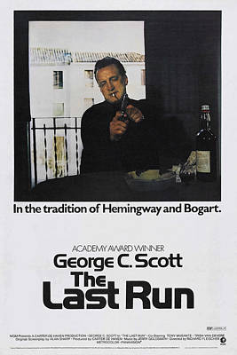 The Last Run, Us Poster Art, George C Poster