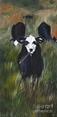 Poster featuring the painting The Last Straw by Carol Sweetwood