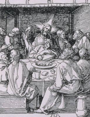 The Last Supper Poster by Albrecht Durer or Duerer