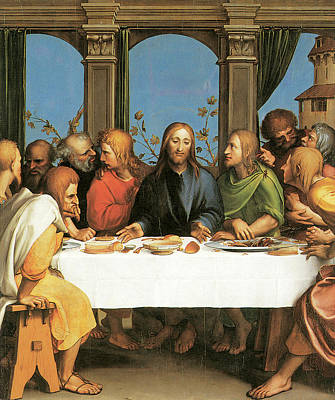 The Last Supper Poster by Hans Holbein the Younger