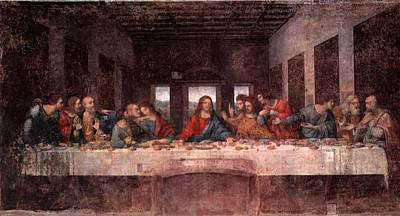 The Last Supper Poster by Leonardo Davinci