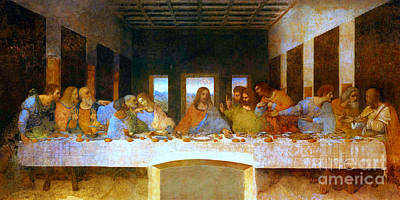 The Last Supper Poster by Pg Reproductions