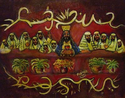 The Last Supper Poster by Regina Brandt