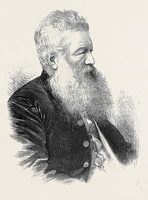 The Late Mr. R. Young Sheriff Elect Of London 1871 Poster by English School