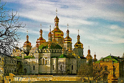 The Lavra Painted Poster