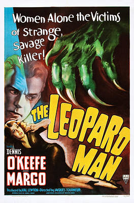 The Leopard Man, From Top Dennis Poster by Everett