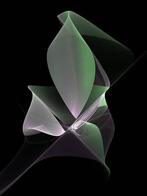 Poster featuring the digital art The Light Inside by Gabiw Art