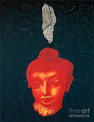 Poster featuring the painting The Light Of Face_ Sold by Fei A
