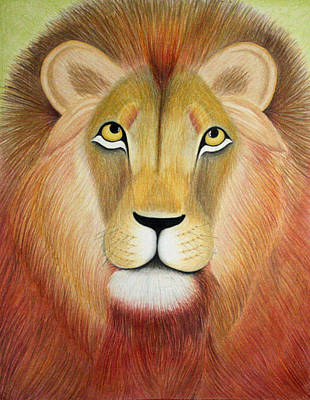 The Lion In Me Poster by Abbye Falkner