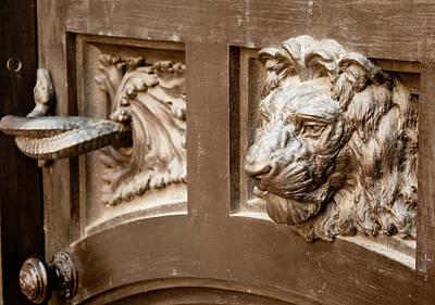 The Lion's Head Door Poster