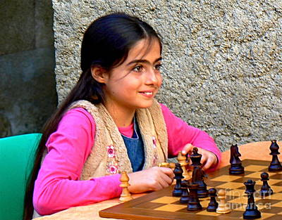 The Little Chess Player Poster