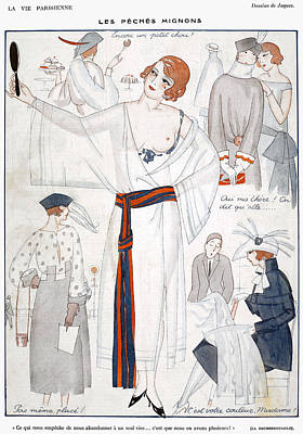 The Little Sins, 1921 Poster by Granger