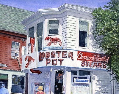 The Lobster Pot Poster by Heidi Gallo