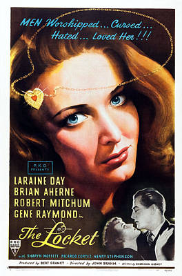 The Locket, Top Laraine Day, Bottom L-r Poster by Everett