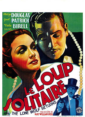 The Lone Wolf Returns, Aka Le Loup Poster by Everett