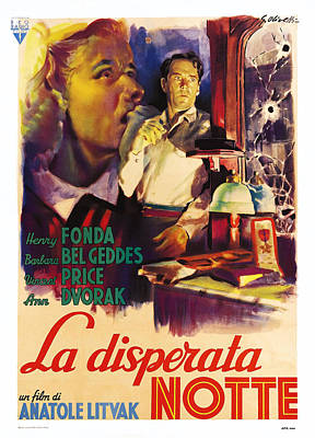 The Long Night, Aka La Disperata Notte Poster