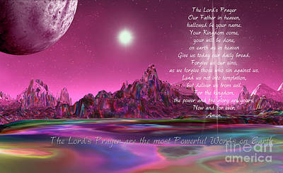 The Lord's Prayer Are The Most Powerful Words On Earth_edited-1 Poster