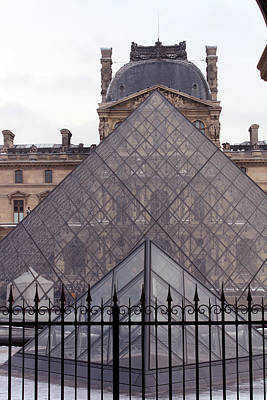 The Louvre Poster