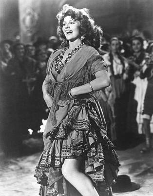 The Loves Of Carmen, Rita Hayworth, 1948 Poster by Everett