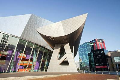The Lowry Theatre Poster by Ashley Cooper