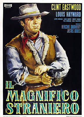The Magnificent Stranger Aka El Poster by Everett