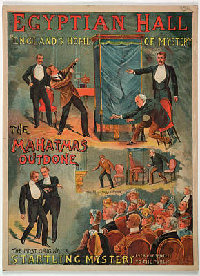 The Mahatmas Outdone Poster by British Library