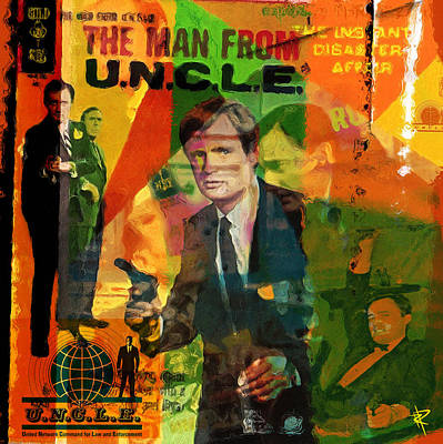 The Man From Uncle Poster by Russell Pierce