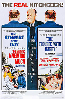 The Man Who Knew Too Much On Double Poster by Everett