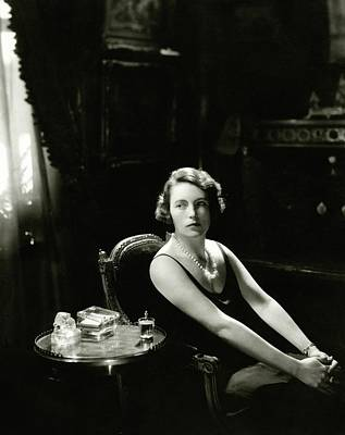 The Marchioness Of Milford Haven Poster by Edward Steichen
