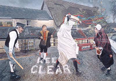 The Marie Llwyd At Llangynwyd, 1996 Oil On Board Poster