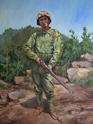The Marine Poster by Mark Maritato