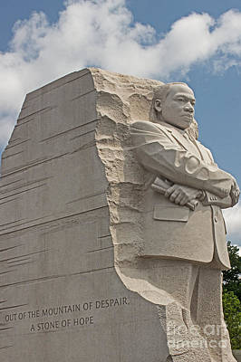 The Martin Luther King Jr Memorial  Poster by Tom Gari Gallery-Three-Photography