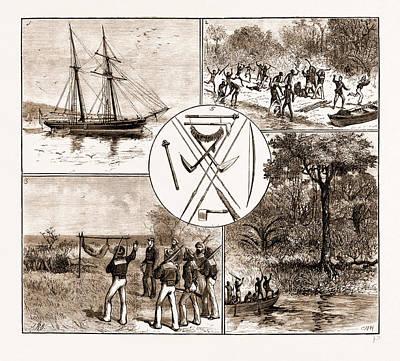 The Massacre Of Lieut. Bower And Five Seamen Of H.m.s Poster