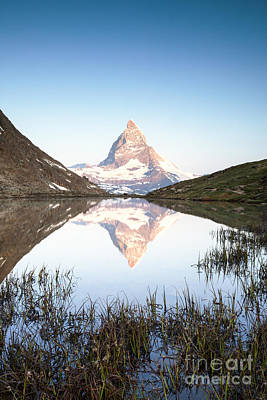 The Matterhorn In The Mirror Poster by Matteo Colombo