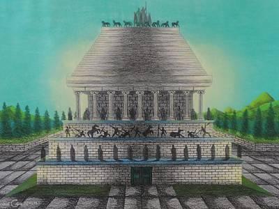 The Mausoleum Of Halicarnassus Poster