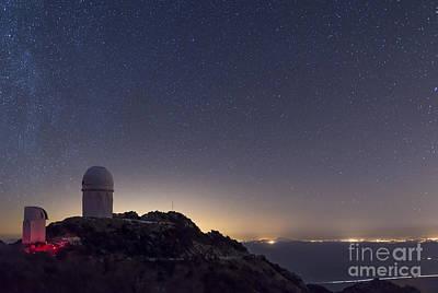 The Mayall Observatory At Kitt Peak Poster