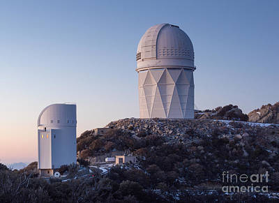 The Mayall Observatory Sits Atop Kitt Poster