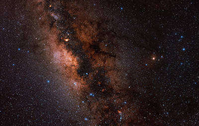 The Milky Way In Scorpius And Sagittarius Poster by Babak Tafreshi